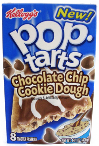 Pop-tarts. Eaten during hurricanes.